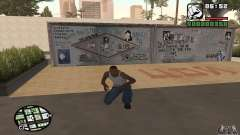 Tsoi Wall for GTA San Andreas