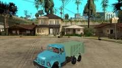 ZIL 131 garbage truck