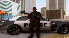 A police officer from CoD: BO2