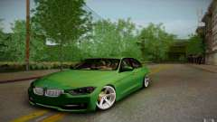 BMW 3 Series F30 Stanced 2012 for GTA San Andreas