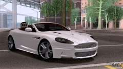 Aston Martin DBS Volante 2009 for GTA San Andreas