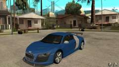 Audi R8 V10 v2 for GTA San Andreas