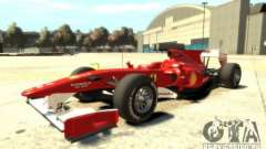 2010 Scuderia Ferrari F10 for GTA 4
