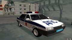 Vaz 21099, police