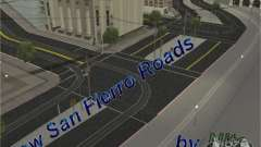 New road, San Fierro for GTA San Andreas