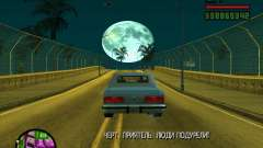 Moon for GTA San Andreas