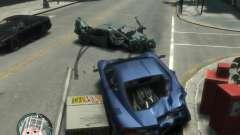 Realistic car damage