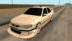 Peugeot 406 Taxi 2 for GTA San Andreas