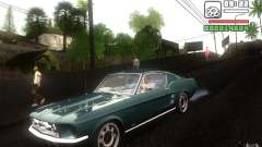 Ford Mustang 1967 American tuning for GTA San Andreas
