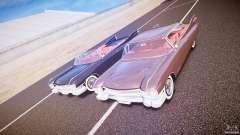 Cadillac Eldorado 1959 interior red