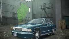 Chevrolet Caprice 1993 Rims 2 for GTA 4