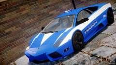 Lamborghini Reventon Polizia Italiana for GTA 4