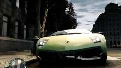 Lamborghini Murcielago LP 670-4 SuperVeloce 2010 for GTA 4