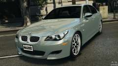 BMW M5 E60 2009 v2.0 for GTA 4