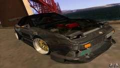 Nissan 180SX Gkon - Drift chrome for GTA San Andreas