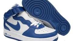 Blue Nike Air Force