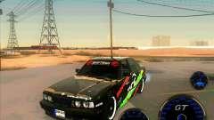 BMW E34 V8 - Darius Balys for GTA San Andreas