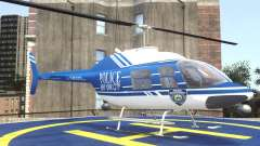 Bell 206 B - NYPD for GTA 4