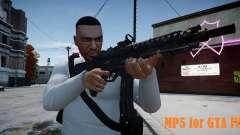 MP5 (CoD: Modern Warfare 3) for GTA 4
