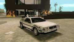 BTTF DeLorean DMC 12 for GTA Vice City