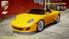 Ruf RK Spyder v0.8Beta for GTA 4