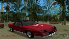 Chevrolet Camaro Convertible 1986 for GTA Vice City