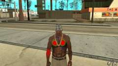 Cool tattoo at CJ-I on the body for GTA San Andreas