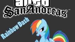 Rainbow Dash Skin