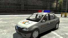 Dacia Logan Prestige Politie for GTA 4