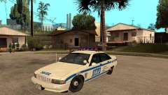 NYPD Chevrolet Caprice Marked Cruiser for GTA San Andreas