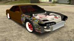 Nissan Silvia S13 Crash Construction for GTA San Andreas