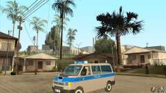 Volkswagen Transporter T4 German Police for GTA San Andreas