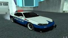 Nissan Silvia S15 Police for GTA San Andreas