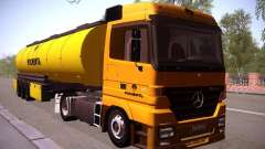 Mercedes-Benz Actros Rosneft for GTA San Andreas