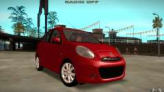 Nissan Micra 2011 for GTA San Andreas