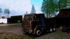 KAMAZ 6520 dump truck for GTA San Andreas