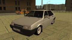 VAZ 21099 silver for GTA San Andreas