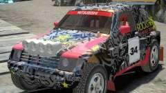 Mitsubishi Pajero Proto Dakar EK86 vinyl 1