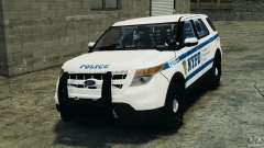 Ford Explorer NYPD ESU 2013 [ELS] for GTA 4