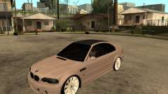 BMW M3 CSL E46 G-Power for GTA San Andreas