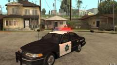 Ford Crown Victoria SFPD 1992 for GTA San Andreas