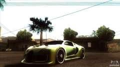 Bugatti Veyron Life Speed for GTA San Andreas