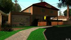New home on Grove Street CJ for GTA San Andreas