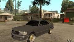 Mercedes-Benz 560 sec w126 1991 for GTA San Andreas