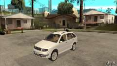 Skoda Fabia Combi for GTA San Andreas