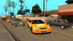 Toyota Camry Nascar Edition for GTA San Andreas
