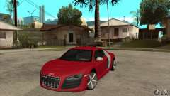 Audi R8 V10 for GTA San Andreas