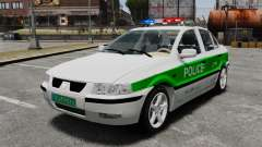 Iran Khodro Samand LX Police for GTA 4