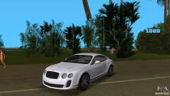 Bentley Continental Supersport for GTA Vice City