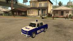 Dacia 1100 Militie for GTA San Andreas